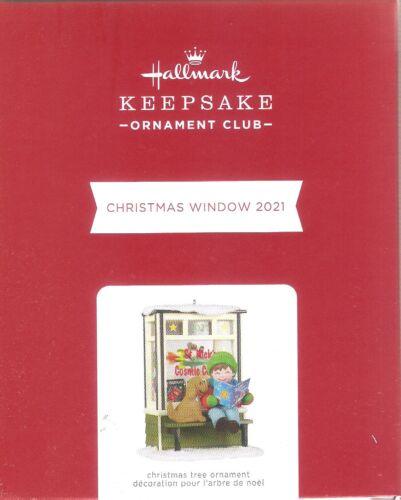 2021 Hallmark KOC Ornament  Christmas Window  #19