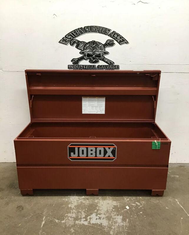 """Jobox Industrial Tool Storage Chest Model 1-655990D  60""""x 24""""x 28"""" *NIB*"""