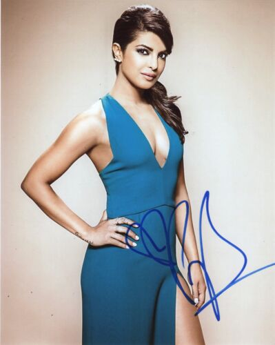 Priyanka Chopra Quantico Autographed Signed 8x10 Photo COA #J2