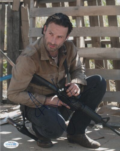 Andrew Lincoln Walking Dead Autographed Signed 8x10 Photo ACOA #4