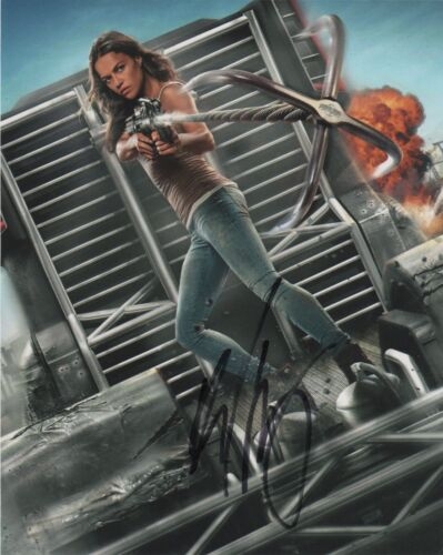 Michelle Rodriguez Fast and Furious Autographed Signed 8x10 Photo COA #E7X