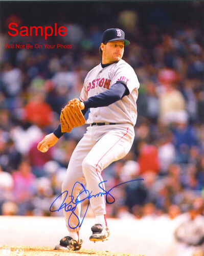 ROGER CLEMENS Boston Red Sox Signed Autographed Reprint 8x10 Photo