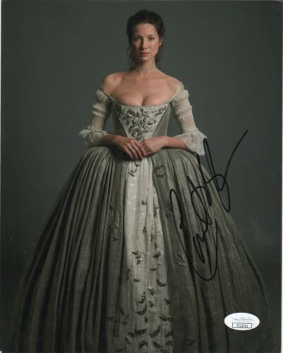 Caitriona Balfe Outlander Autographed Signed 8x10 Photo JSA COA #C71