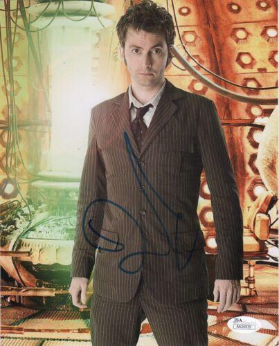 David Tennant Doctor Who Autographed Signed 8x10 Photo JSA COA #3