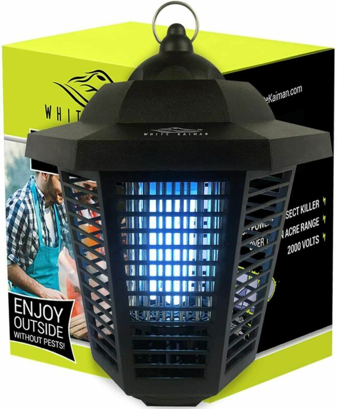 Electric Mosquito Killing Lamp Outdoor Bug Zapper With 1/2 Acre Coverage - 2000V