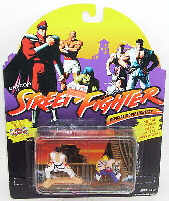 Capcom Street Fighter RYU HOSHI vs. VEGA Action Figure NEW Movie Hasbro Die Cast for sale  Shipping to India