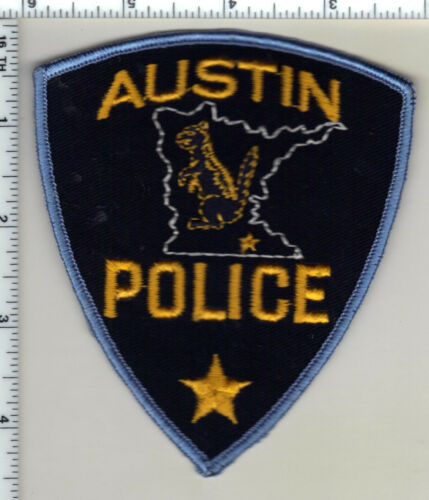 Austin Police (Minnesota) Shoulder Patch new from 1985