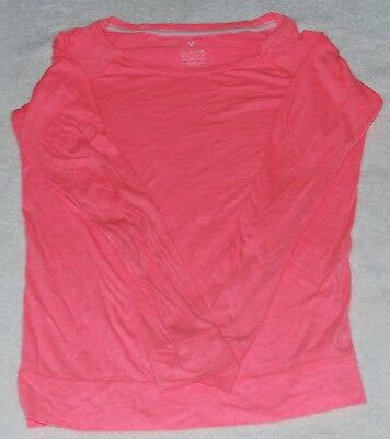 American Eagle Outfitters ~ Peach Long Sleeve Shirt ~ XS