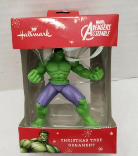 Avengers Assemble Marvel Christmas Tree Ornament HULK Rare Figure Collect New