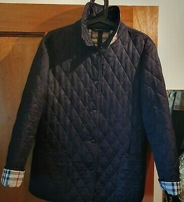 Burberry Quilted Jacket  M  12-14