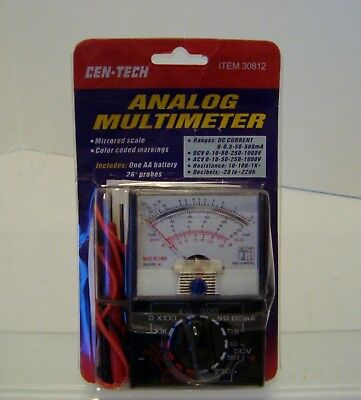 Analog Meter Multimeter Multitester Fuse Protection Dc Ac New