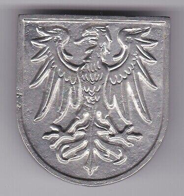 Wappen-Schild Brandenburg - Adler ohne Schrift / Metall-Guss