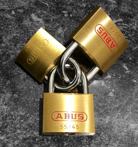 ABUS PADLOCK TRI-PACK  -  Great set for Locksport !!
