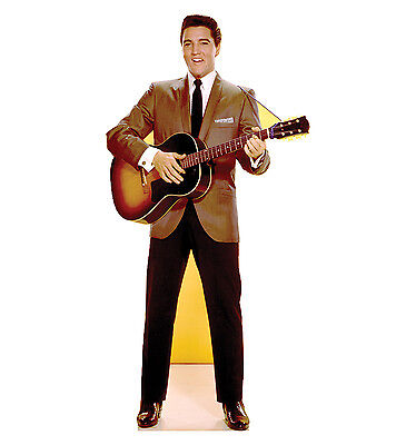 ELVIS PRESLEY - LIFE SIZE STANDUP/CUTOUT BRAND NEW - MUSIC 839 (Life Size Elvis)