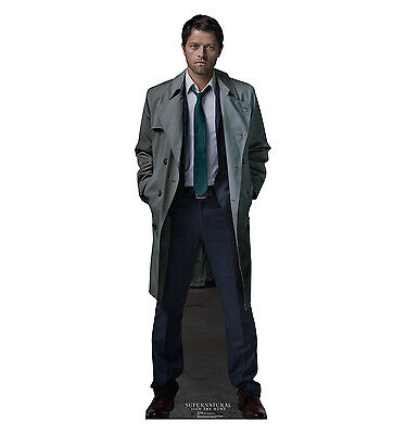 CASTIEL Supernatural Angel Jimmy Novak CARDBOARD CUTOUT Standup Standee Poster