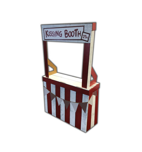 KISSING BOOTH - LIFE SIZE STANDUP - BRAND NEW - PARTY 2385