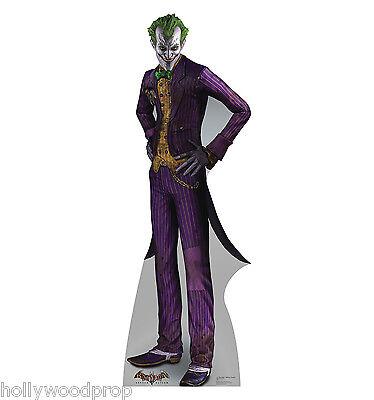 The Joker Batman Arkham Asylum Lifesize Cardboard Standup Standee Cutout Poster