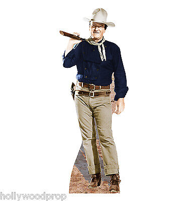 JOHN WAYNE THE MAN WHO SHOT LIBERTY VALANCE LIFESIZE STANDUP STANDEE CUTOUT - John Wayne Stand Up