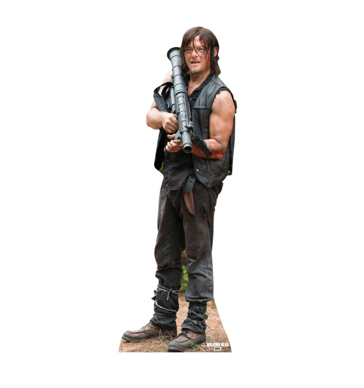 THE WALKING DEAD - DARYL - LIFE SIZE STANDUP/CUTOUT BRAND NEW - 2238