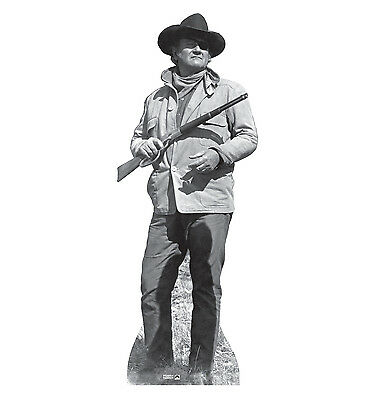 JOHN WAYNE - TRUE GRIT - LIFE SIZE STANDUP/CUTOUT BRAND NEW - RIFLE - John Wayne Stand Up