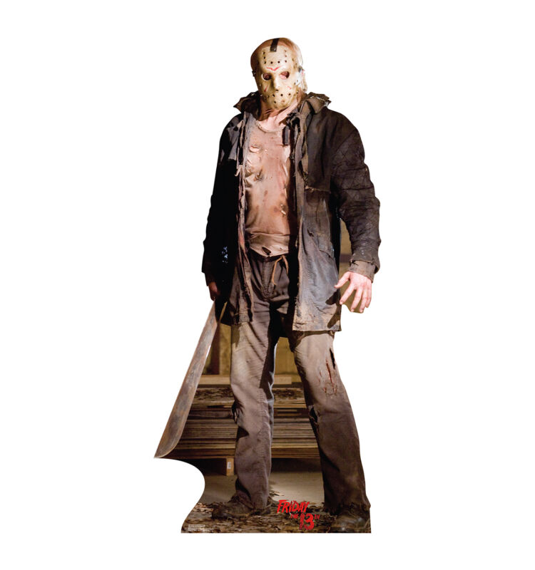 JASON - FRIDAY THE 13TH - LIFE SIZE STANDUP/CUTOUT BRAND NEW - MOVIE 1725