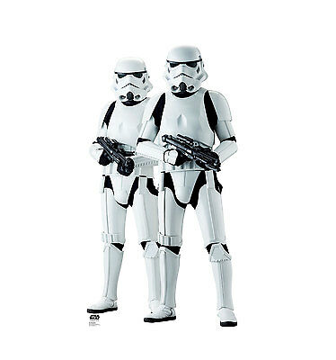STAR WARS - ROGUE ONE - STORMTROOPERS - LIFE SIZE STANDUP/CUTOUT - 2257