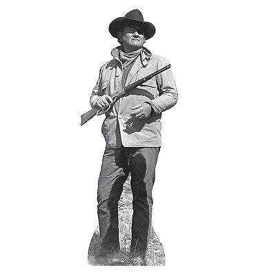 JOHN WAYNE The Duke 1969 TRUE GRIT Lifesize CARDBOARD CUTOUT Standup Standee - John Wayne Stand Up