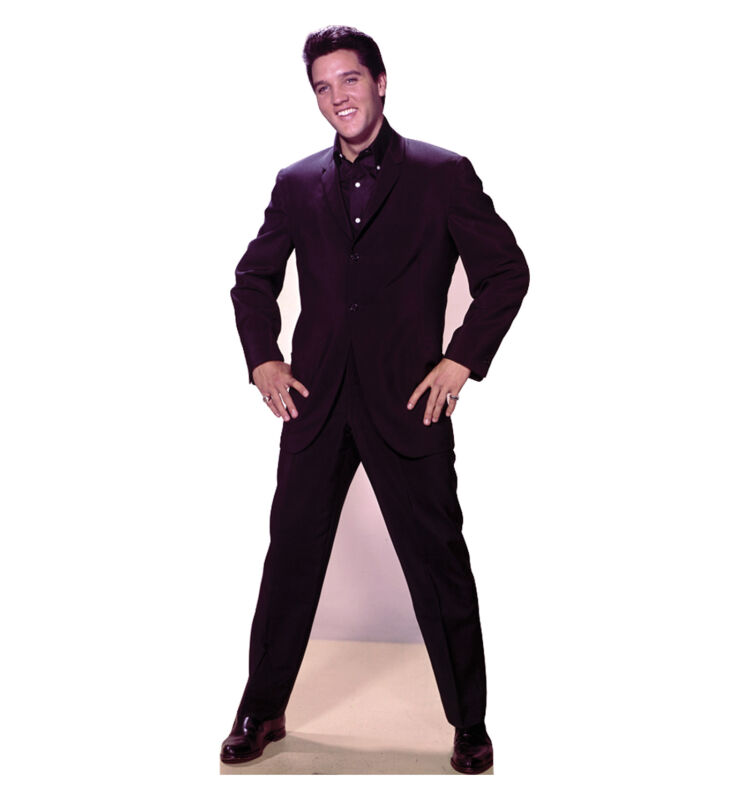 ELVIS PRESLEY - LIFE SIZE STANDUP/CUTOUT BRAND NEW - MUSIC 843