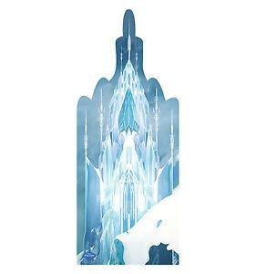 Frozen Elsa Ice Castle Cardboard Cutout Standup Decoration