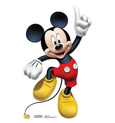 MICKEY MOUSE Disney Clubhouse Dancing CARDBOARD CUTOUT Standee Standup Poster