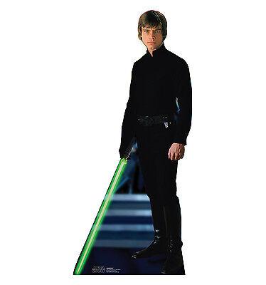 LUKE SKYWALKER Star Wars Jedi Lifesize CARDBOARD CUTOUT Standup Standee Poster