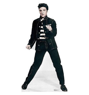 Life Size Elvis Cutout (ELVIS PRESLEY - JAILHOUSE ROCK - LIFE SIZE STANDUP/CUTOUT BRAND NEW - MUSIC)