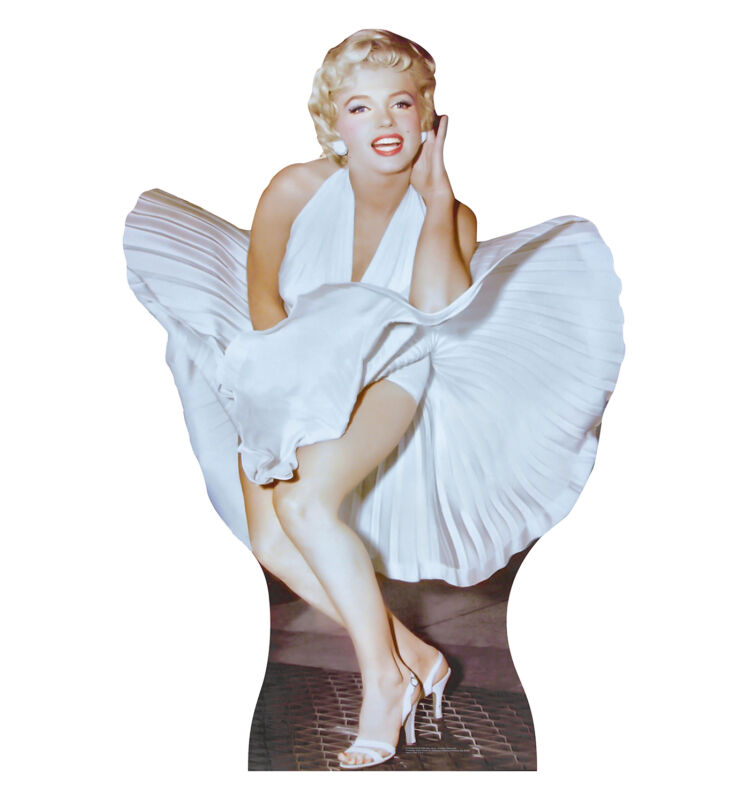 MARILYN MONROE - SEVEN YEAR ITCH - LIFE SIZE STANDUP/CUTOUT BRAND NEW - SEXY 172