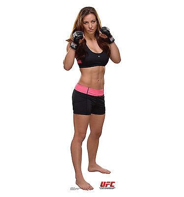 MIESHA TATE UFC MMA Female Fighter CARDBOARD CUTOUT Standup Standee Poster