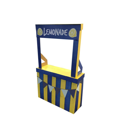 LEMONADE STAND - LIFE SIZE STANDUP - BRAND NEW - PARTY 2384