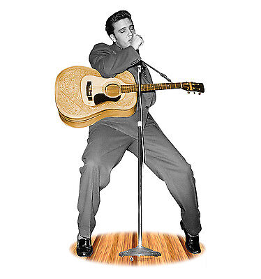 Life Size Elvis Cutout (ELVIS PRESLEY - LIFE SIZE STANDUP/CUTOUT BRAND NEW - THE KING MUSIC)