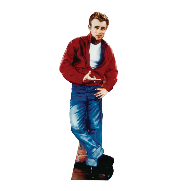 JAMES DEAN - RED JACKET - LIFE SIZE STANDUP/CUTOUT BRAND NEW - SEXY 27