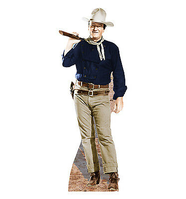 JOHN WAYNE Duke MAN WHO SHOT LIBERTY VALANCE CARDBOARD CUTOUT Standup - John Wayne Stand Up