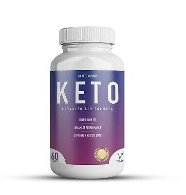 Keto Diet Fat Burner Pills BHB Weight Loss Formula Premium 1200mg 60 Capsules