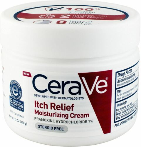 CeraVe Itch Relief Moisturizing Cream 12 Oz Pack Of 2  - $25.95