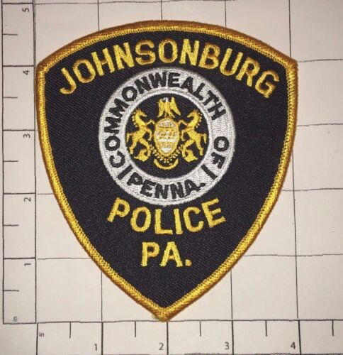 Johnsonburg Police Patch -  Pennsylvania