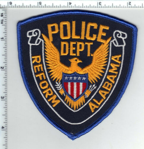 Reform Police (Alabama) Shoulder Patch - New from 1989
