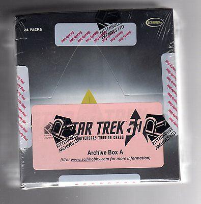 2017 Star Trek  50th Anniversary A & B Archive Box