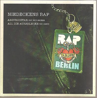 """Niedeckens BAP Thees Uhlmann Clueso """"Absurdistan / All Die Aureblecke"""" 7"""" Vinyl"""