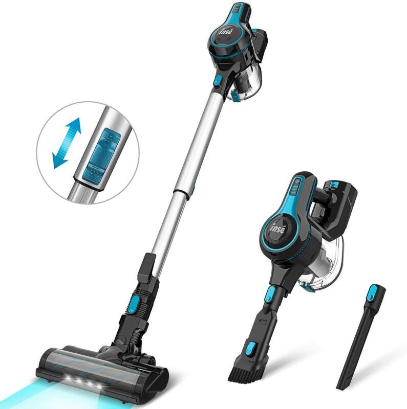 INSE 12Kpa Cordless Vacuum Cleaner 4 in 1 Handheld Stick Vacuum Cleaner Ref US