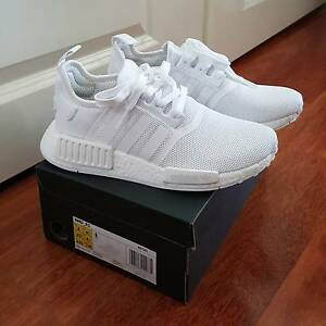 NEW Adidas NMD R1 Triple White (US 5 / UK 4.5) Melbourne CBD Melbourne City Preview