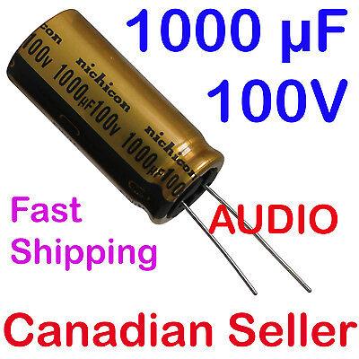 Nichicon Elko Audio Grade ufw1e222mhd 2200uf 25 V 12,5x25mm rm5 85 ° #bp 4 pc