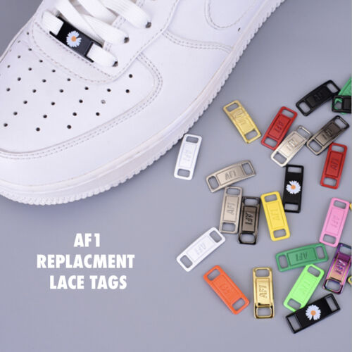 AF1 REPLACEMENT LACE TAGS LOCKS AIR FORCE ONES DUBRAES