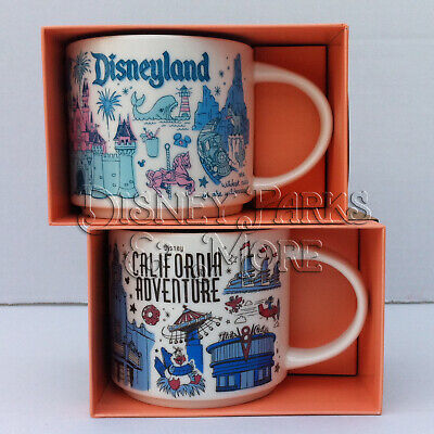 Dca Collections - Starbucks Disneyland & Disney California Adventure DCA BEEN THERE Mug Set