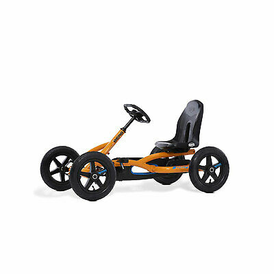 BERG Toys Buddy Kids Toddler Safe Pedal 4 Wheel Go Kart Toy, Orange (Open Box)